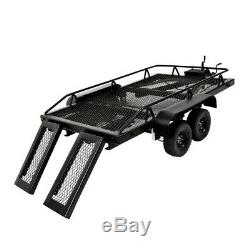 1/10 Scale RC Heavy Duty Truck Trailer Kit for Axial SCX10 D90 D110 TF2 TRX4