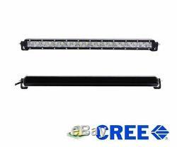 100W 20 LED Light Bar with Lower Bumper Bracket/Wire For Silverado 1500 2500 3500