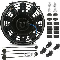 15 Row High Performance Transmission Oil Cooler 8 Electric Fan Kit Heavy Duty