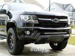 150W 30 LED Light Bar withBumper Bracket Wiring For 15+ GMC Canyon Chevy Colorado