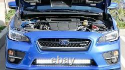180W 30 LED Light Bar with Lower Bumper Bracket, Wirings For 15-18 Subaru WRX STi