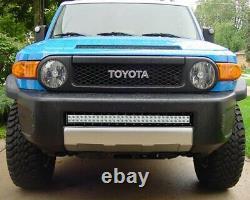 180W 30 LED Light Bar with Lower Bumper Bracket, Wirings For Toyota FJ Cruiser