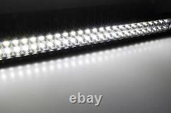 240W 40 LED Light Bar withBehind Grille Mount Bracket For 09-14 Ford F150/Raptor