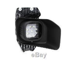 27W LED Fog Lights with Bezels Brackets Wiring For 11-16 F250 F350 F450 Super Duty