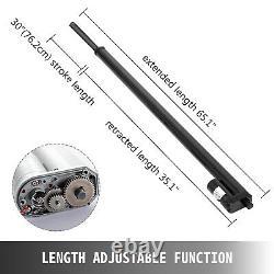 2pcs 30 Stroke Linear Actuator 12V Electric Motor Kit Medical Heavy Duty 760mm