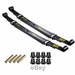 2x Rear Leaf Springs Kit for Club Car Precedent Golf Cart Heavy Duty Dual Action