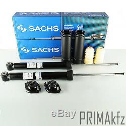 2x SACHS 556 882 Stoßdämpfer hinten + Staubschutzsatz Domlager Bmw 3er E36 E46