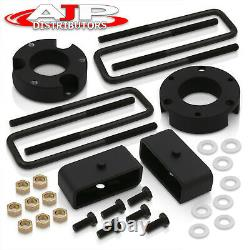 3 Front 2 Rear Black Leveling Lift Kit Set For 1995-2004 Toyota Tacoma 4WD 2WD