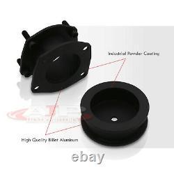 3 Front 2 Rear Leveling Lift Kit Billet Black For 2006-2010 Jeep Commander XK