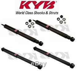 4 Shocks for Dodge Ram 2500 4x4 4WD Heavy Duty 8800 GVW 94 to 02-344364 344373