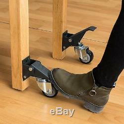4 Workbench Caster Kit Heavy Duty Castor Wheels Work Bench Furniture Table DIY