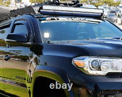 40W CREE LED Pod Light Kit with A-Pillar Brackets, Wiring For 16-up Toyota Tacoma
