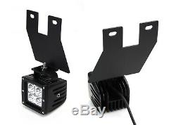 40W CREE LED Pods with Foglight Bracket, Wirings For Ford F250 F350 F450 Excursion