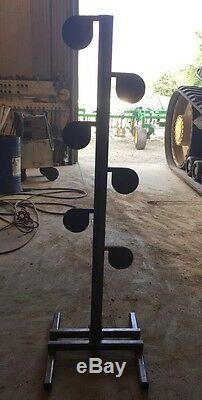 AR500 Steel Target Dueling Tree DIY Kit (6) 6 X 3/8 Heavy Duty Pivot Tubes