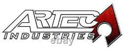 ARTEC Heavy Duty Inner C Gusset Kit fits 84-06 Jeep TJ LJ XJ MJ ZJ Raw TJ3010