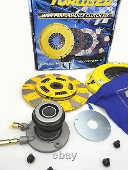 BLUSTEELE HEAVY DUTY Cushion Button Clutch kit FORD FALCON BA BF XR6-T TURBO