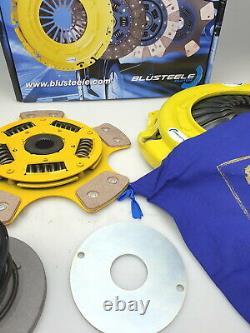 BLUSTEELE Heavy Duty CERAMIC Button Clutch Kit for Ford Falcon BA BF XR6-T Turbo