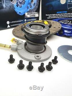 BLUSTEELE Heavy Duty Clutch Kit for Ford Falcon BA BF XR6 6cyl TURBO & SLAVE CYL