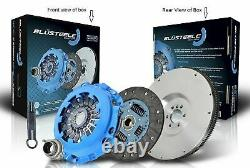 Blusteele HEAVY DUTY clutch kit & FLYWHEEL for SUBARU FORESTER EJ25 SOHC 02-FLEX