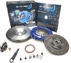Blusteele HEAVY DUTY clutch kit & SOLID FLYWHEEL for NISSAN XTRAIL T30 QR25DE