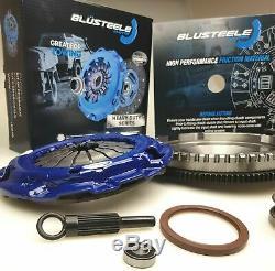 Blusteele HEAVY DUTY clutch kit for FORD ranger & solid FLYWHEEL 06-11 T Diesel