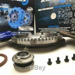Blusteele HEAVY DUTY clutch kit for MAZDA BT50 & solid FLYWHEEL 06-11 T Diesel