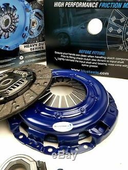 Blusteele HEAVY DUTY clutch kit for NISSAN navara D22 2.5l YD25DDT, NEW BOLTS