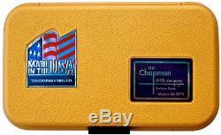Chapman MFG Master Kit 5575 American Made 64 Part Screwdriver Set Mini Ratchet