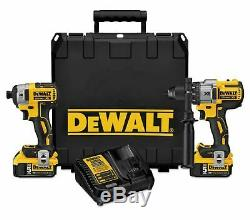 DEWALT DCK299P2 MAX XR Li-Ion Hammer Drill & Impact Driver Combo Kit