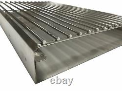 DIY Brick Charcoal BBQ Kit in High Grade Stainless Steel Heavy Duty Design