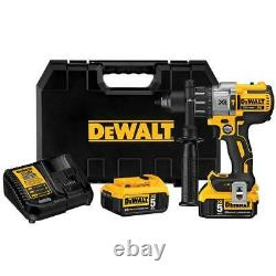 DeWALT DCD996P2 20V 1/2-Inch 3-Speed 5.0Ah Lithium-Ion Hammer-Drill Kit