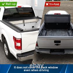 Fit 2009-2019 Ram 1500 5.7ft Retractable Tonneau Cover Hard Waterproof Aluminum