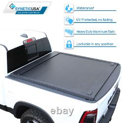 Fit 2010-2021 F-150 Tonneau Cover 5.5ft Truck Bed Retractable Waterproof Hard