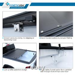Fits 02-2021 Ram 1500/2500 Tonneau Cover 6.5ft Bed Retractable Waterproof Hard