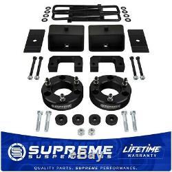 Fits 2007-2018 GMC Sierra 1500 3.5 + 3 Full Lift Kit withDiff Drop PRO BLACK