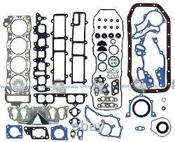 Fits 85-95 Toyota Pickup 2.4l 22re Sohc New Master Engine Rebuild Heavy Duty Kit
