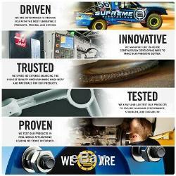 For 06-10 Hummer H3 4WD 3 Front + 2 Rear Level Lift Kit + Bilstein 5100 Shocks