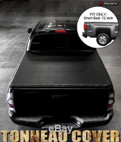 For 1982-1993 Chevy S10/Sonoma Fleetside 6 Feet Bed Snap-On Vinyl Tonneau Cover