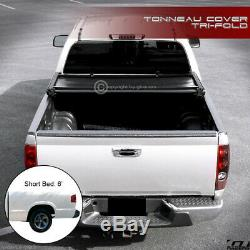 For 1994-2003 Chevy S10 Pickup/GMC Sonoma 6 Ft Bed Tri-Fold Soft Tonneau Cover