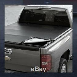 For 1999-2016 Ford F250/F350 Superduty 6.5'/78 Bed Snap-On Vinyl Tonneau Cover
