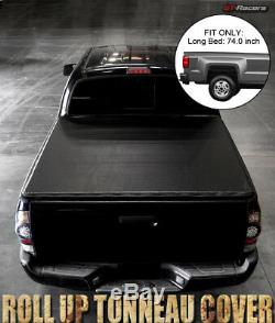 For 2004-2012 Chevy Colorado/Canyon 6 Ft 72 Bed Lock & Roll Soft Tonneau Cover