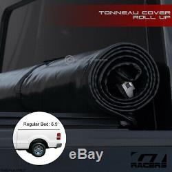 For 2004-2014 F150 Reg/Super/Supercrew 6.5 Ft Bed Lock & Roll Soft Tonneau Cover