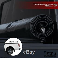 For 2005-2019 Nissan Frontier Crew Cab 5 Ft Bed Lock & Roll Soft Tonneau Cover