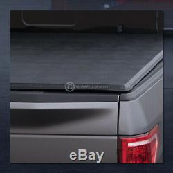 For 2014-2018 Chevy Silverado Crew Cab 5.8 Ft Bed Lock & Roll Soft Tonneau Cover