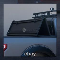 For 2014-2018 Chevy Silverado/GMC Sierra 5.8 Ft Bed Tri-Fold Soft Tonneau Cover