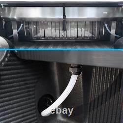 For 2019-2021 Silverado 5.8ft Tonneau Cover Aluminum Retractable Waterproof Hard