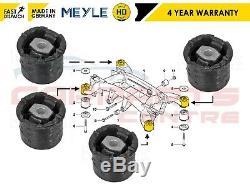 For Bmw X5 E53 2000-2007 Rear Subframe Front & Rear Bushes Set Meyle Heavy Duty