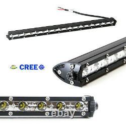 Front Grille Mount 20 LED Light Bar withBrackets For 20-up Dodge RAM 2500 3500