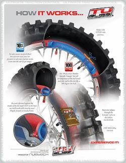 Gen 2 Motorbike Tubliss Tubeless Tyre Kit 18 & 21 Tube Less Heavy Duty
