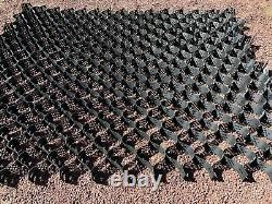 Geocell Ground Grid Heavy Duty Driveway Parking Kit- 108 sq ft FREE CLIPS